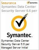 Symantec Data Center Security Server 6.6 per Managed Server Initial Essential 12 Meses Express Band E [250-499]  (Figura somente ilustrativa, não representa o produto real)