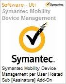 Symantec Mobility Device Management per User Hosted Sub [Assinatura] Add-On Express Band S [001+] Essential 12 Meses  (Figura somente ilustrativa, n�o representa o produto real)