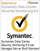 Symantec Data Center Security Monitoring 6.6 per Managed Server Bndl Standard License Express Band D [100-249] Essential 12 Meses  (Figura somente ilustrativa, não representa o produto real)