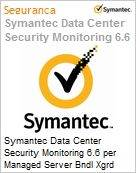 Symantec Data Center Security Monitoring 6.6 per Managed Server Bndl Xgrd [Crossgrade] License from Data Center Sec Srvr Express Band E [250-499] Essential 12 Meses (Figura somente ilustrativa, não representa o produto real)