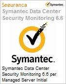 Symantec Data Center Security Monitoring 6.6 per Managed Server Initial Essential 12 Meses Express Band D [100-249]  (Figura somente ilustrativa, não representa o produto real)
