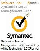 Symantec Server Management Suite Powered by Altiris Technology 8.0 XPlat per Device Sub [Assinatura] License Express Band S [001+] Essential 24 Meses (Figura somente ilustrativa, não representa o produto real)