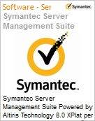Symantec Server Management Suite Powered by Altiris Technology 8.0 XPlat per Device Renewal [Renovação] Essential 12 Meses Express Band S [001+] (Figura somente ilustrativa, não representa o produto real)
