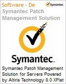 Symantec Patch Management Solution for Servers Powered by Altiris Technology 8.0 XPlat per Device Bndl Standard License Express Band S [001+] Essential 12 Meses (Figura somente ilustrativa, não representa o produto real)