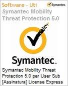 Symantec Mobility Threat Protection 5.0 per User Sub [Assinatura] License Express Band S [001+] Essential 12 Meses  (Figura somente ilustrativa, n�o representa o produto real)