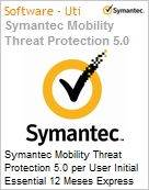 Symantec Mobility Threat Protection 5.0 per User Initial Essential 12 Meses Express Band S [001+]  (Figura somente ilustrativa, n�o representa o produto real)