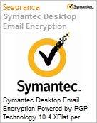 Symantec Desktop Email Encryption Powered by PGP Technology 10.4 XPlat per User Initial Essential 12 Meses Express Band A [001-024]  (Figura somente ilustrativa, não representa o produto real)