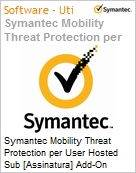 Symantec Mobility Threat Protection per User Hosted Sub [Assinatura] Add-On Express Band S [001+] Essential 12 Meses  (Figura somente ilustrativa, não representa o produto real)