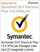 Symantec DLP Discover Plus 14.5 XPlat per Managed User Xgrd [Crossgrade] License from DLP Veritas Data Insight Express Band S [001+]  (Figura somente ilustrativa, não representa o produto real)
