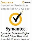 Symantec Protection Engine for NAS 7.8 per User Initial Essential 12 Meses Express Band E [250-499]  (Figura somente ilustrativa, n�o representa o produto real)