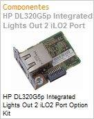 HP DL320G5p Integrated Lights Out 2 iLO2 Port Option Kit (Figura somente ilustrativa, n�o representa o produto real)