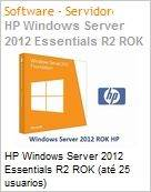 HP Windows Server 2012 Essentials R2 ROK (at� 25 usuarios)  (Figura somente ilustrativa, n�o representa o produto real)