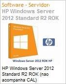 HP Windows Server 2012 Standard R2 ROK (nao acompanha CAL)  (Figura somente ilustrativa, não representa o produto real)