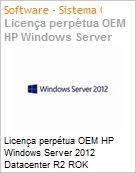 Licença perpétua OEM HP Windows Server 2012 Datacenter R2 ROK  (Figura somente ilustrativa, não representa o produto real)