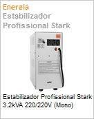 Estabilizador Profissional Stark 3.2kVA 220/220V (Mono)  (Figura somente ilustrativa, não representa o produto real)